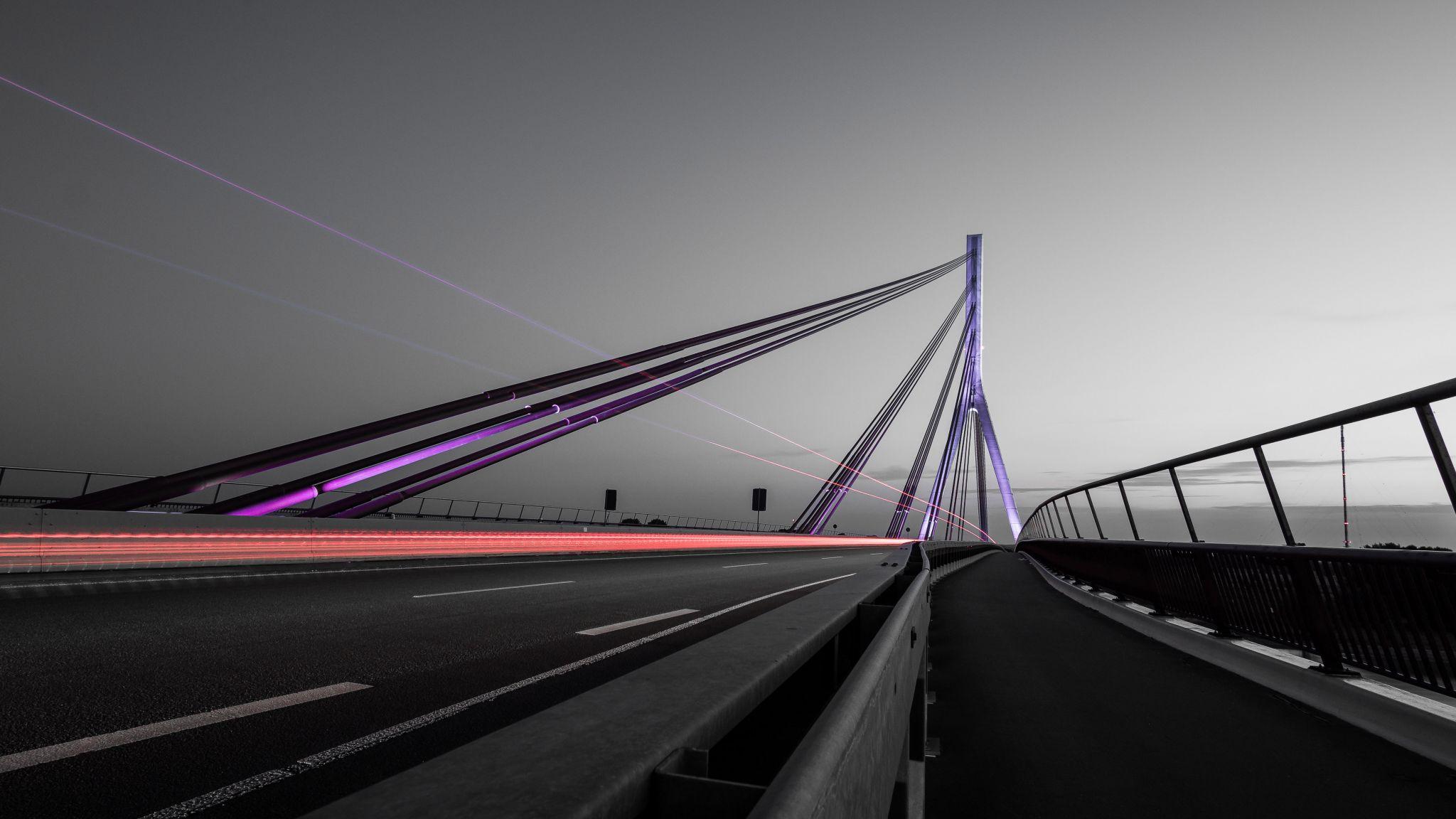 Rheinbrücke Wesel, Germany