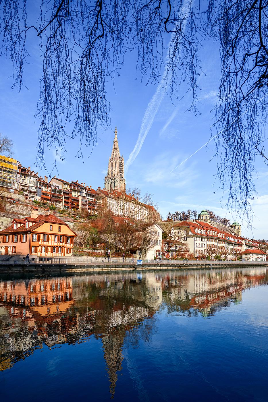 River Aare in Bern, Switzerland