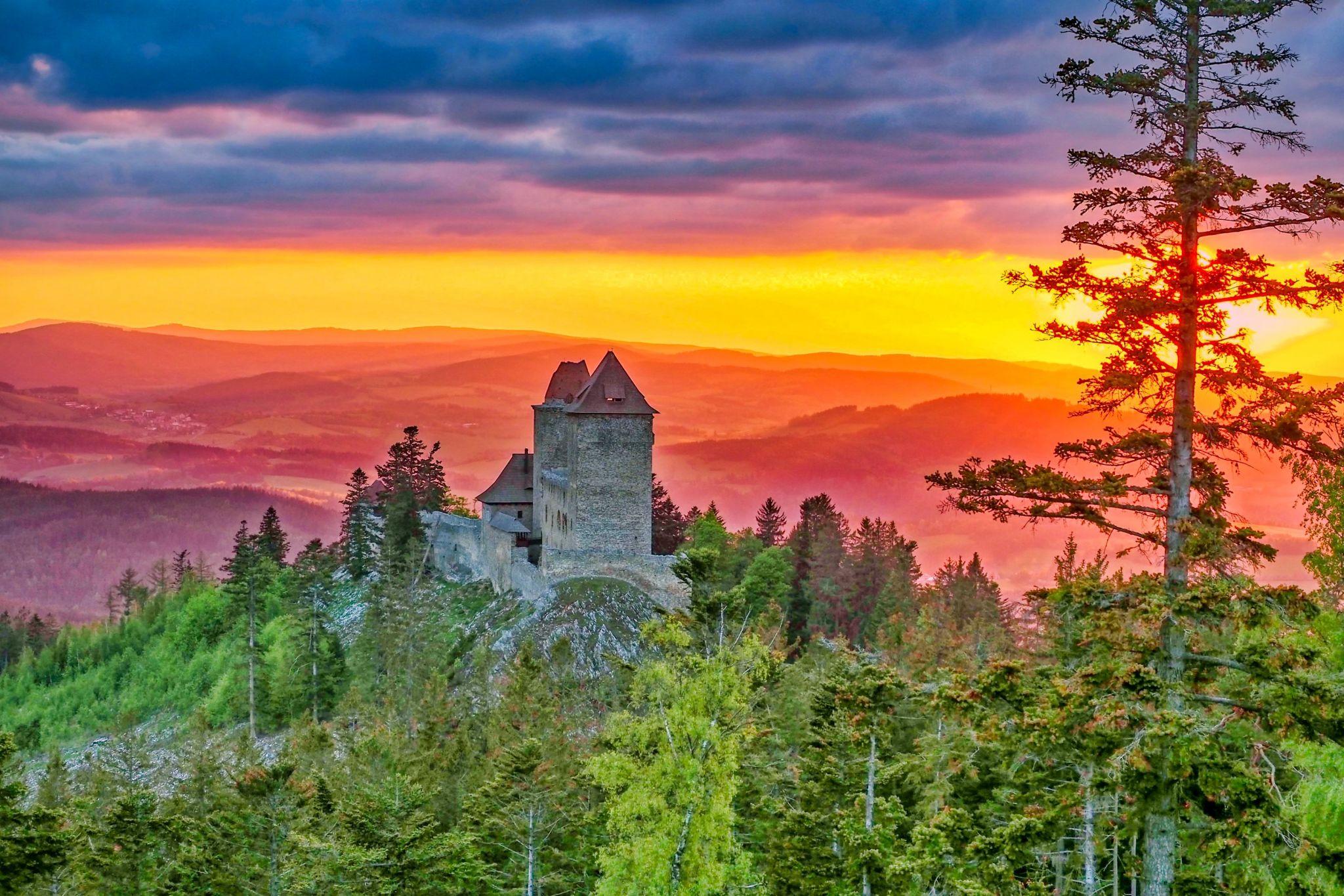 Royal Kašperk Castle, Czech Republic
