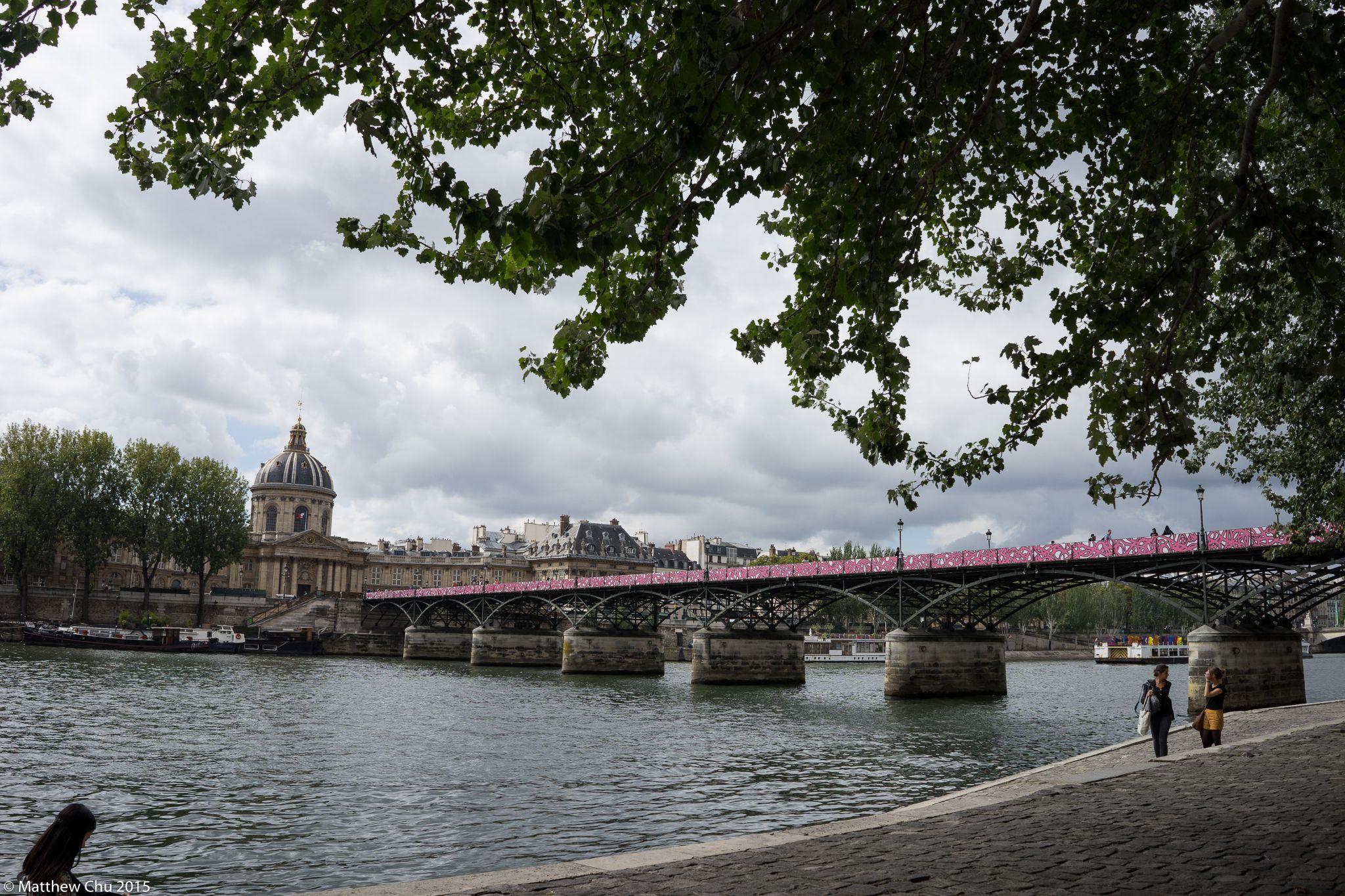 Seine river bank, Paris, France, France