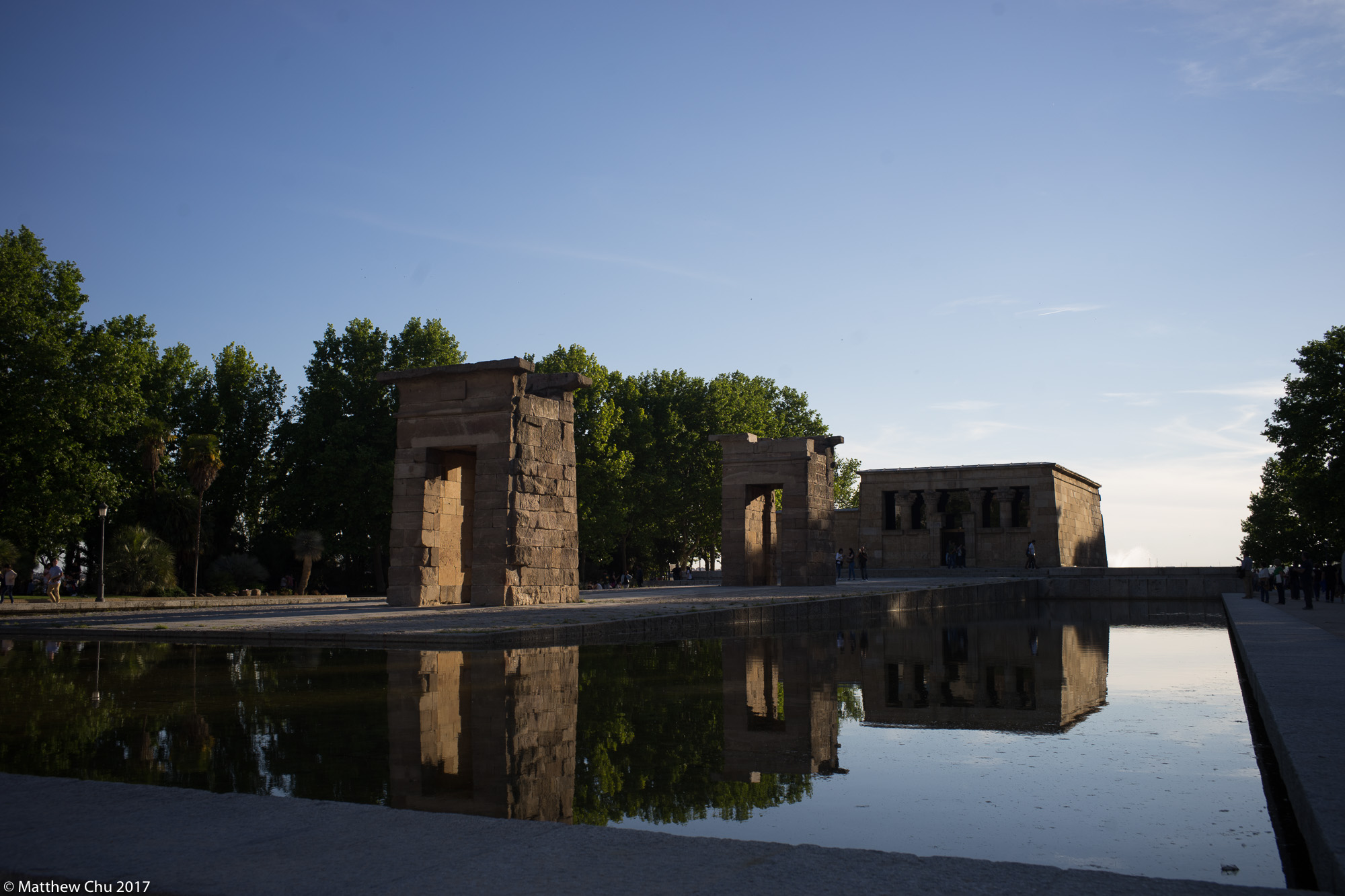 Templo de Debod, Madrid, Spain