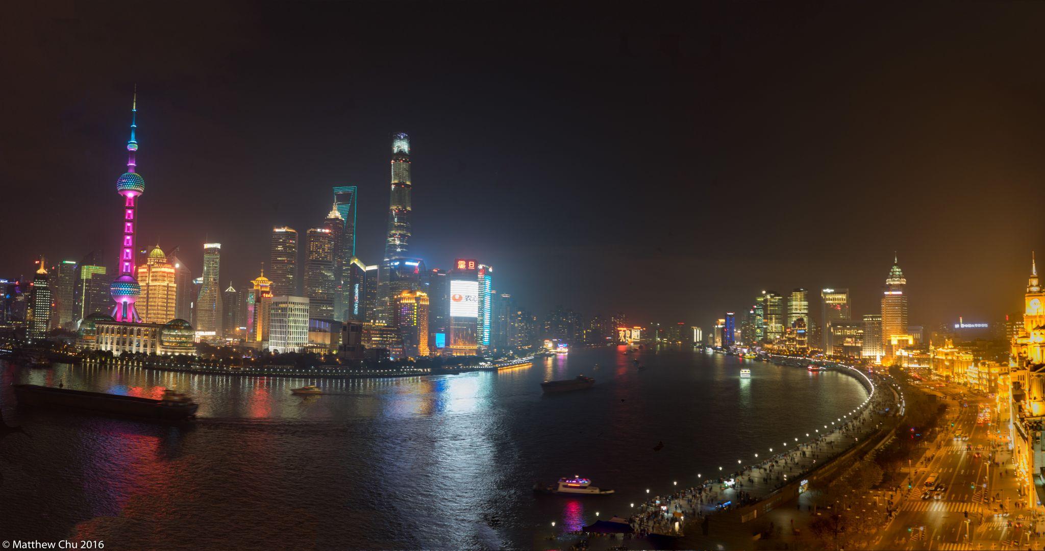 The Bund Panorama, Shanghai, China