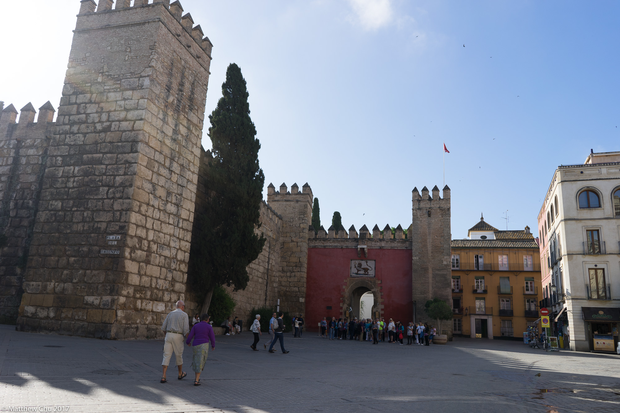 The Royal Alcázars of Seville, Seville, Spain, Spain