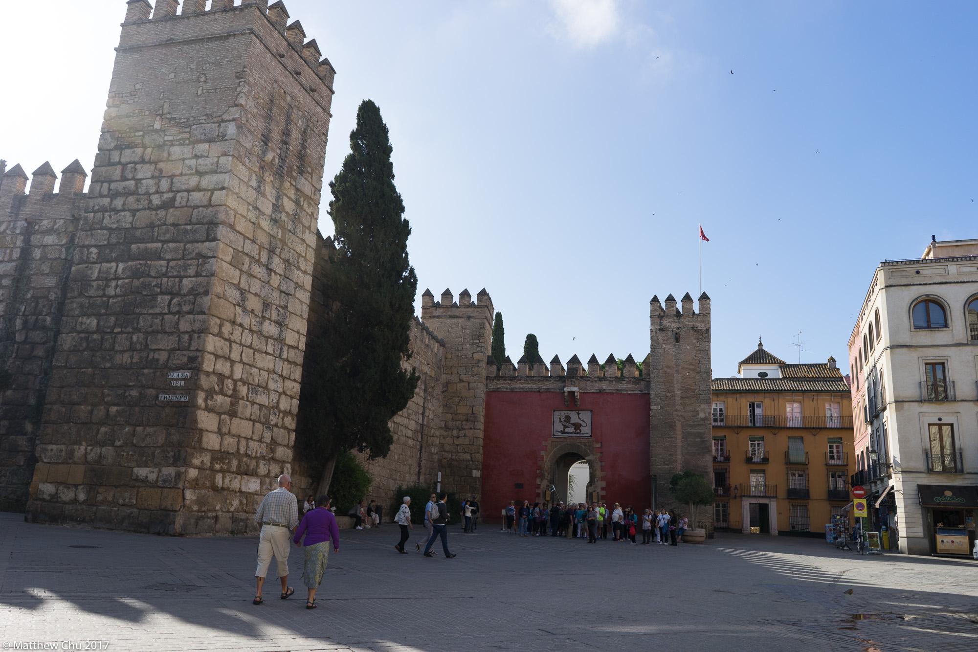The Royal Alcázars of Seville, Seville, Spain, Spain
