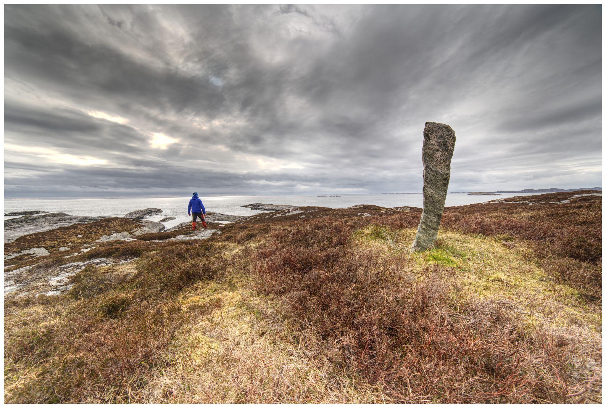 The Viking stone, Norway