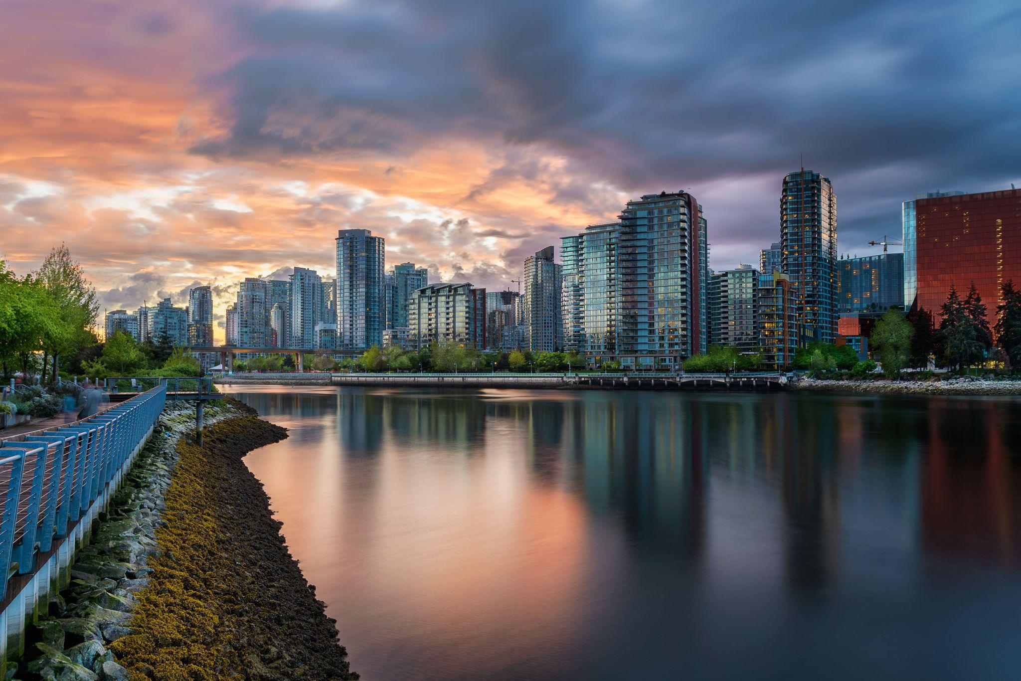 False Creek, Vancouver, BC, Canada, Canada