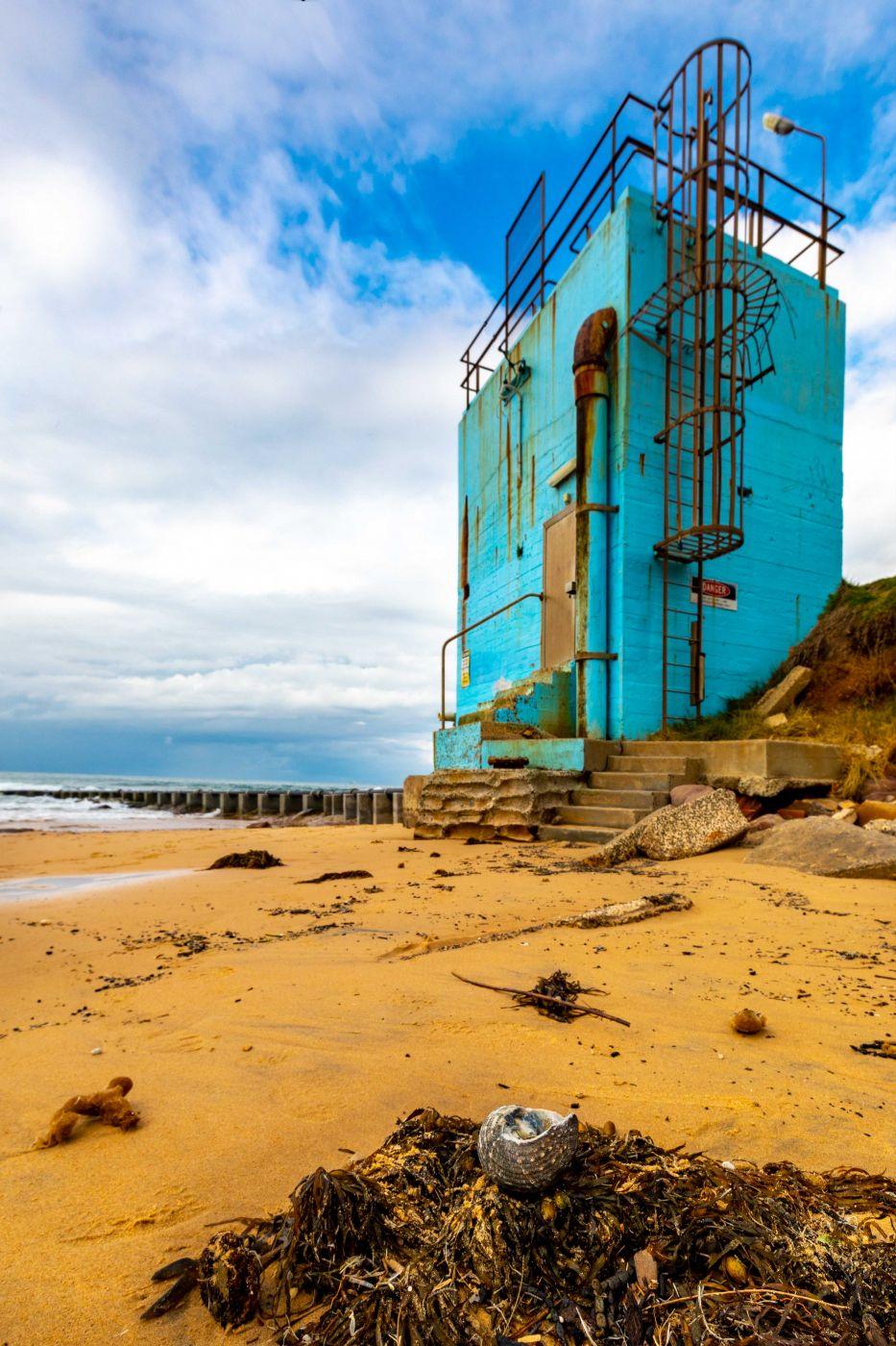 Water Tank & Shell Thirroul South Coast New Sout Wales, Australia