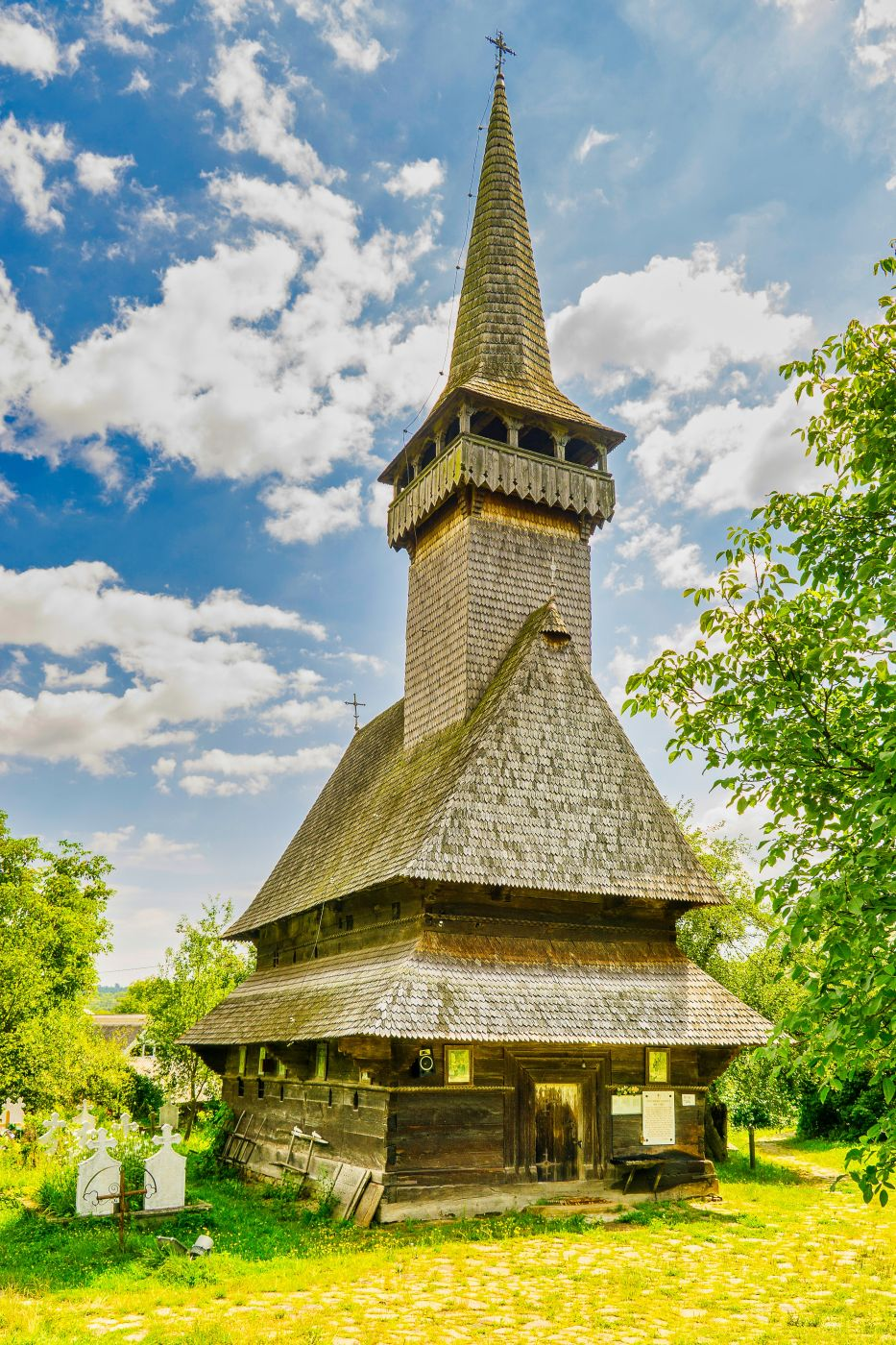 wooden church of Sat-Sugatag, Romania