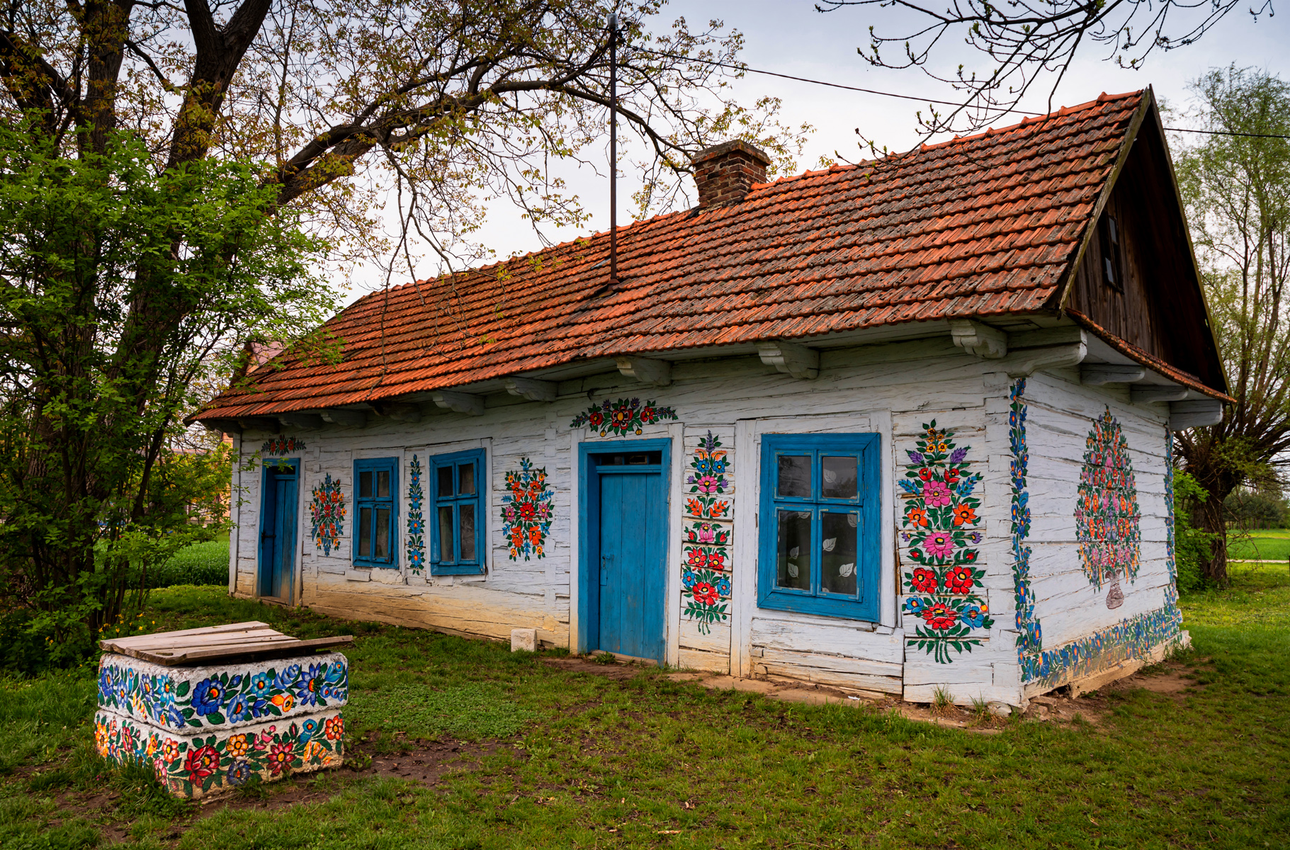 Zalipie Painted Houses, Poland
