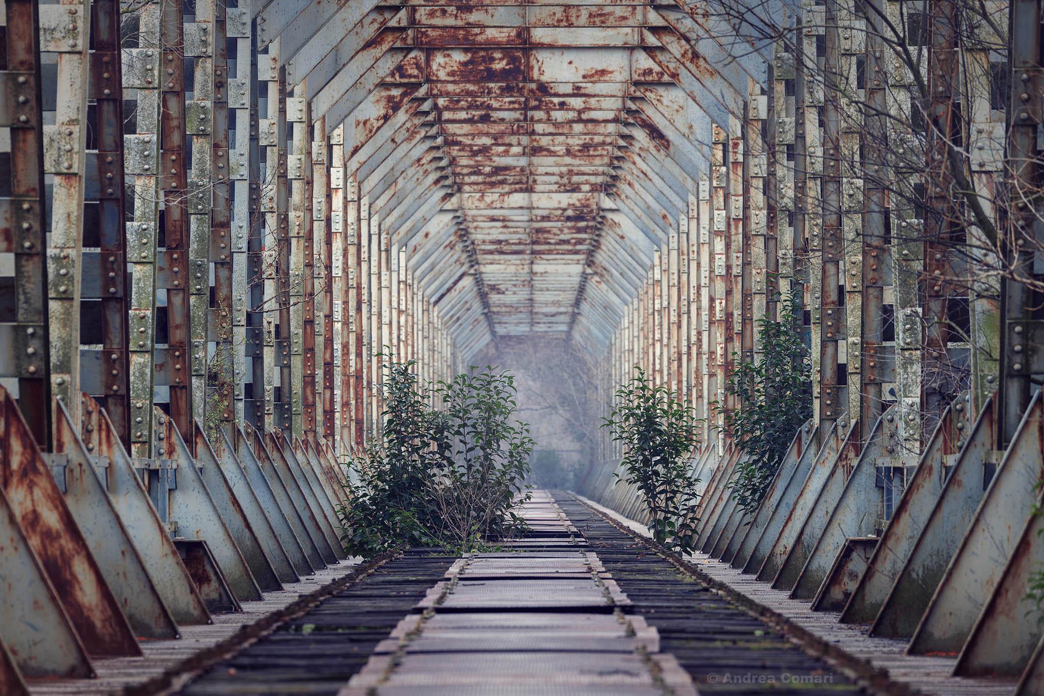 Abandoned Railroad Bridge, Gradisca-IT, Italy