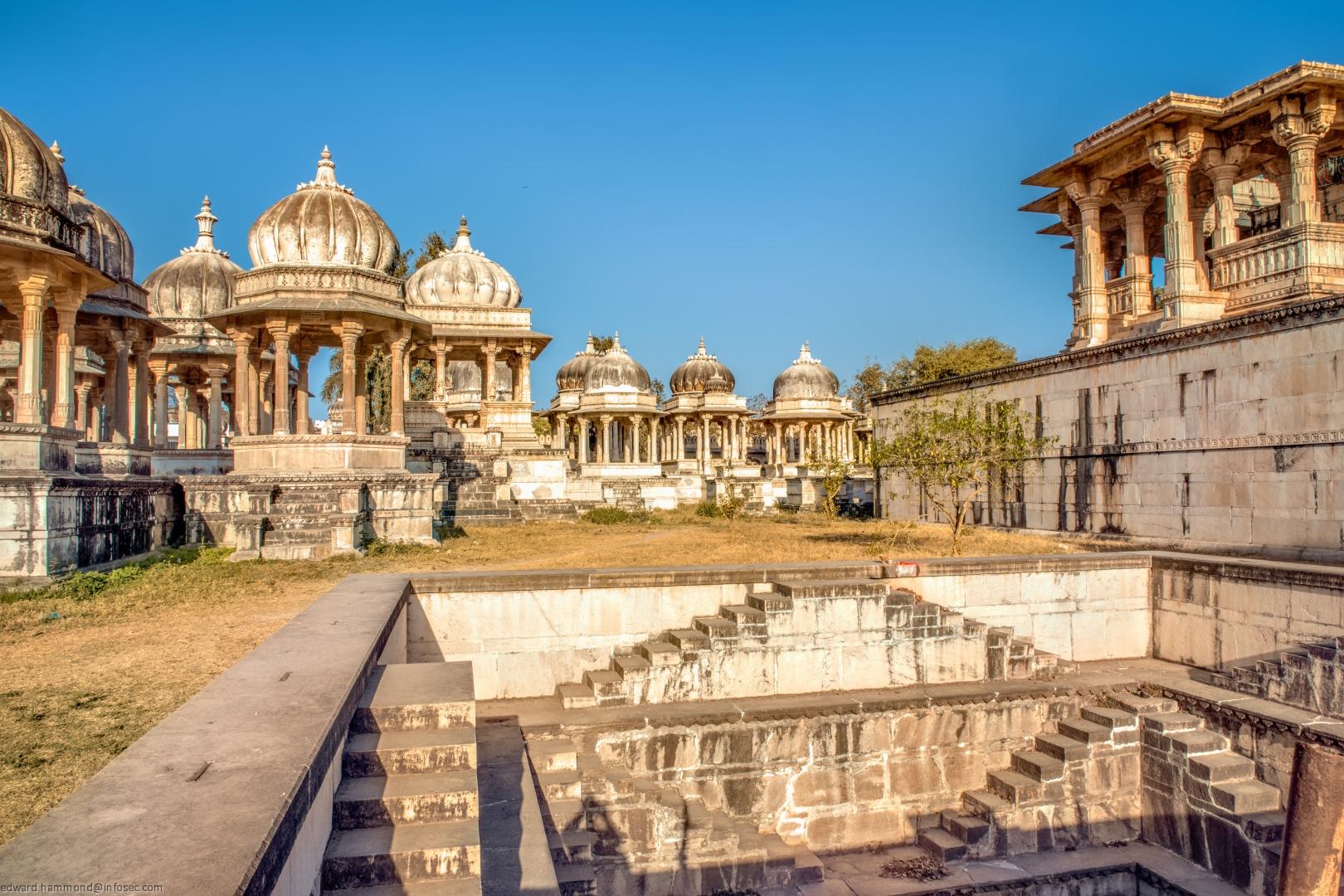 Ahar Cenotaphs,  Udaipur,, India
