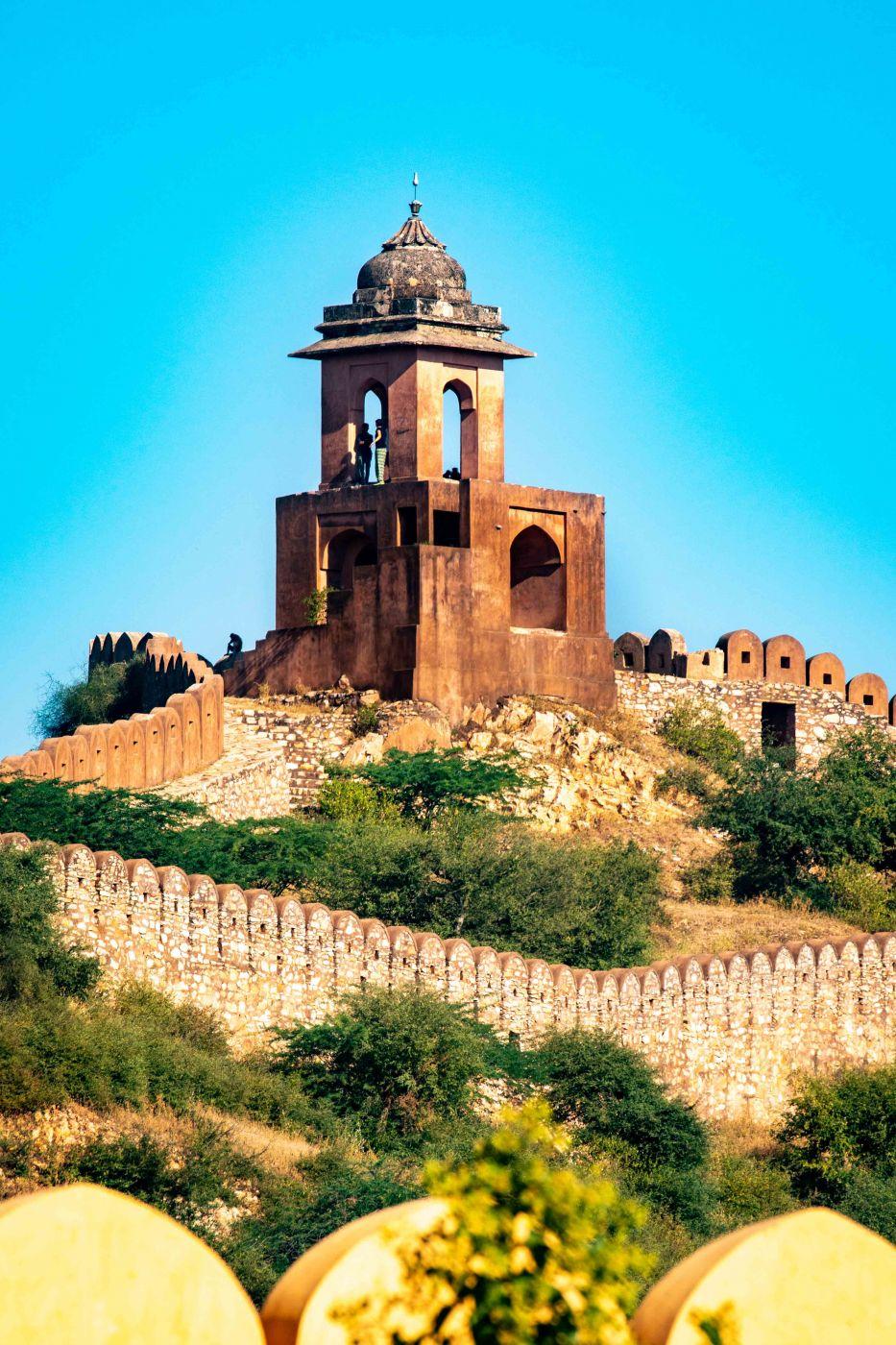 Amber fort tower Jaipur, India