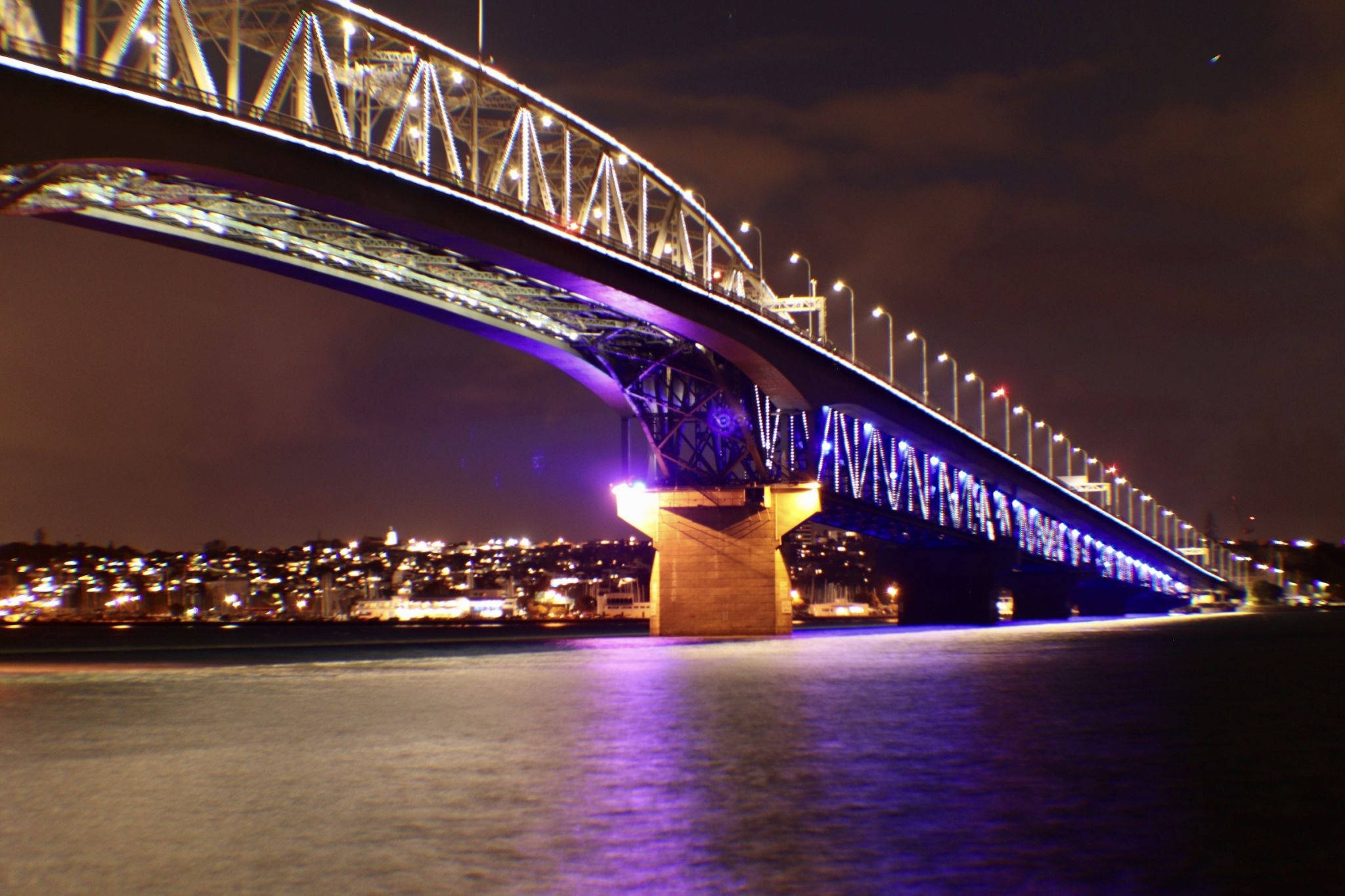 Auckland Harbour Bridge, New Zealand