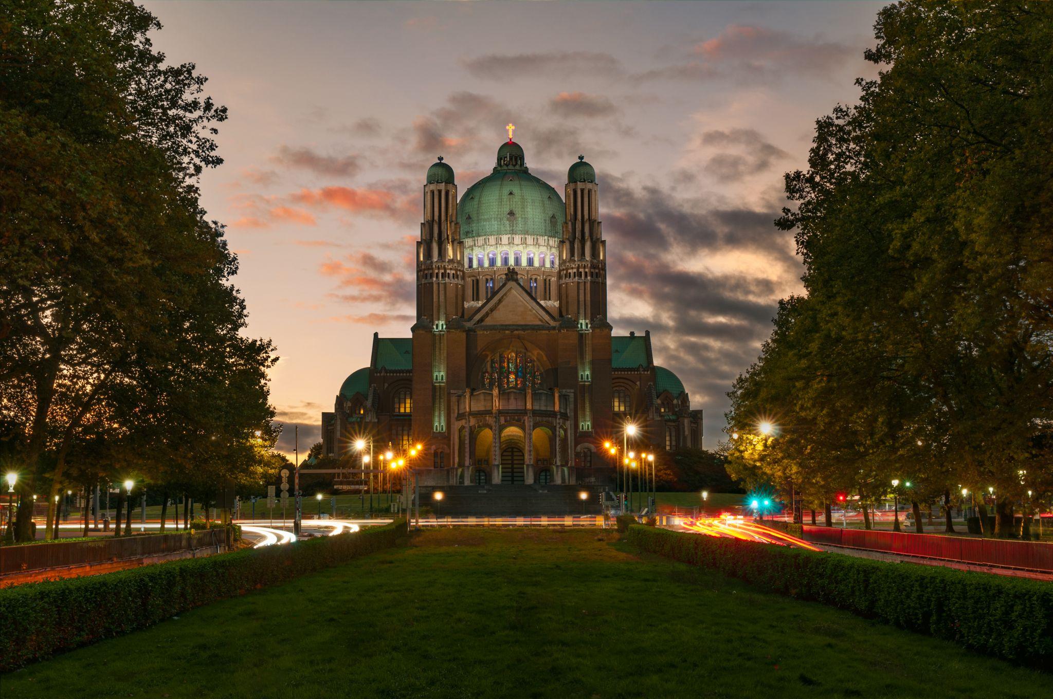 Basilica of the Sacred Heart in Koekelberg, Belgium