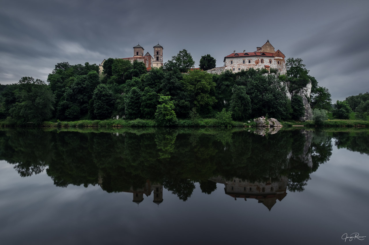 Benedictine Abbey in Tyniec, Poland