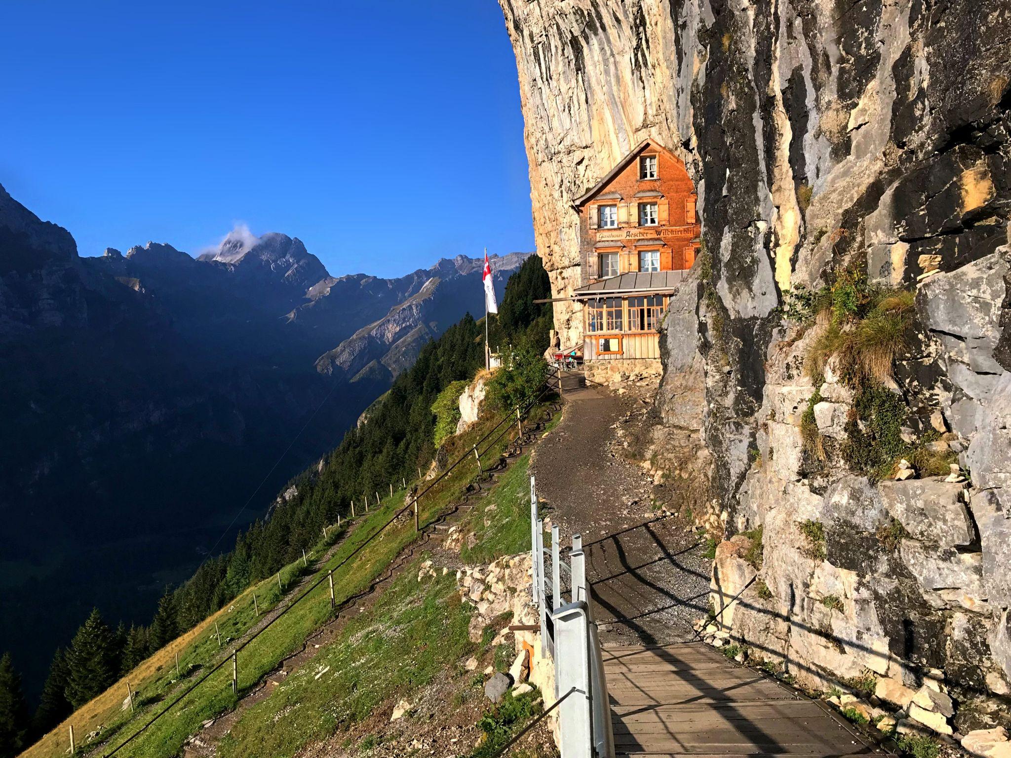 Berggasthaus Äscher, Ebenalp, Switzerland
