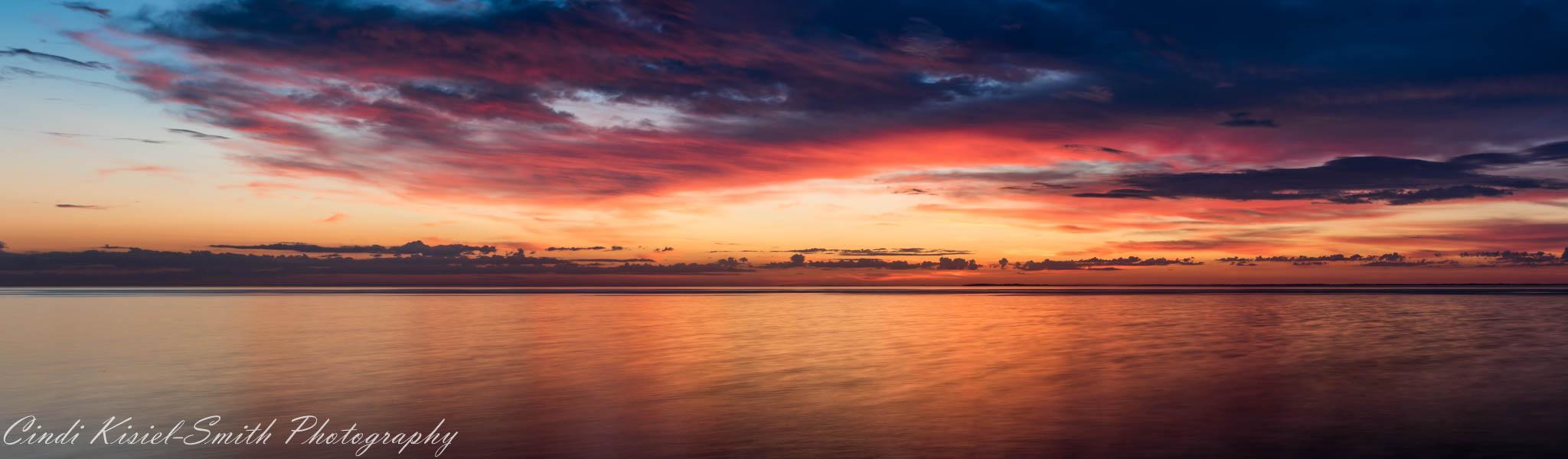 Buffalo NY Sunset, USA