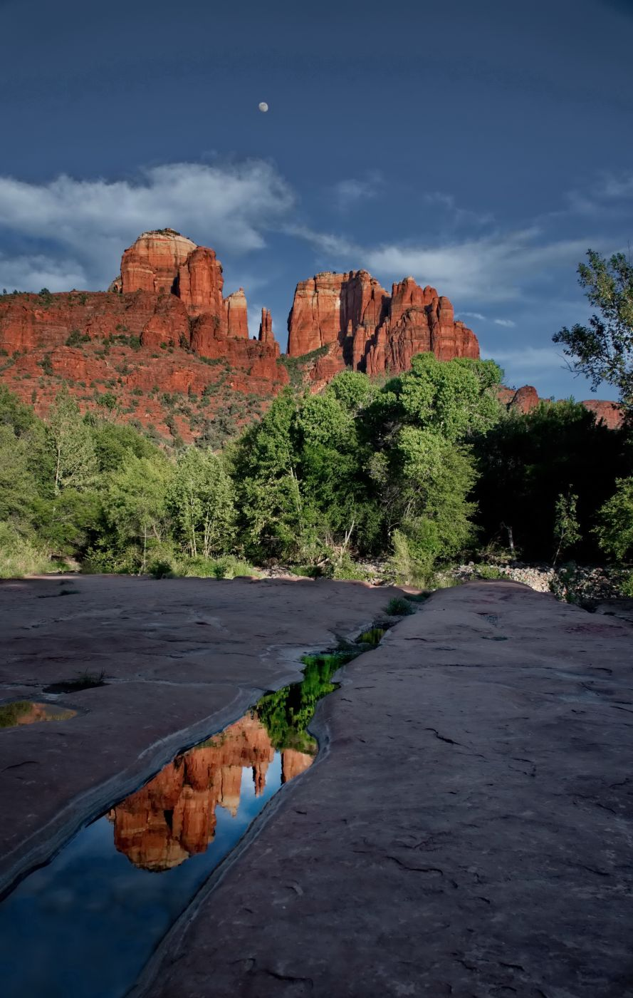 Cathederal Rock reflections, USA