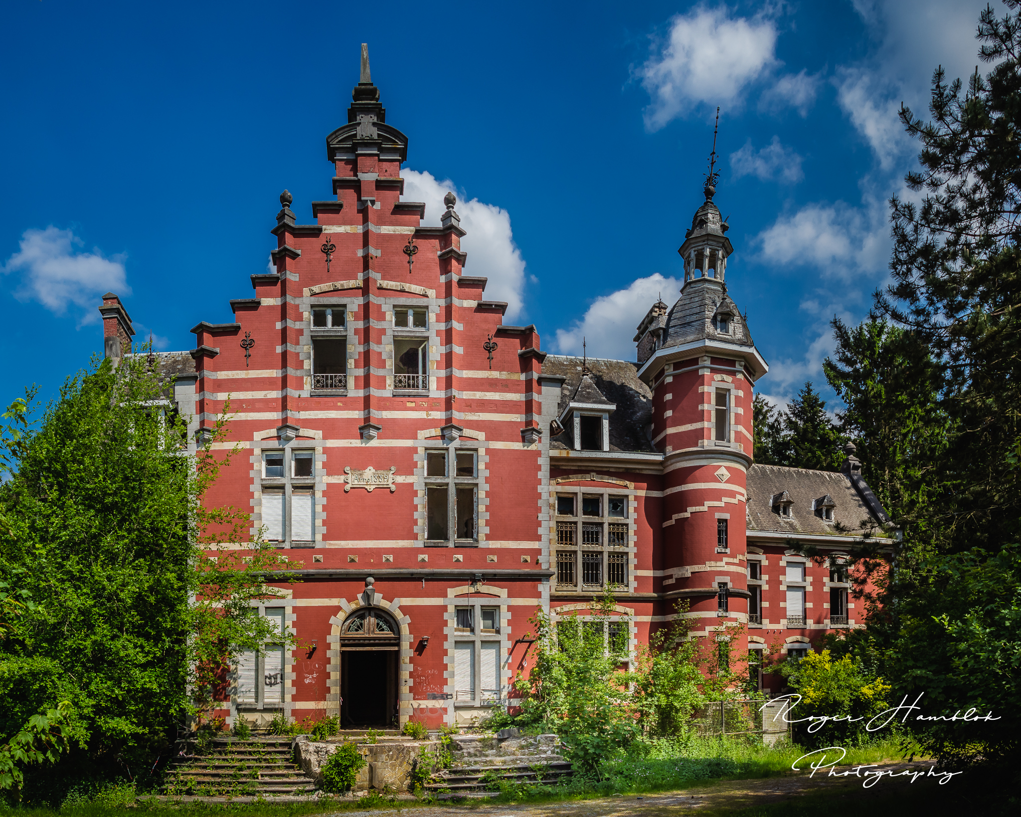 Chateau Rouge / the Red Castle, Belgium