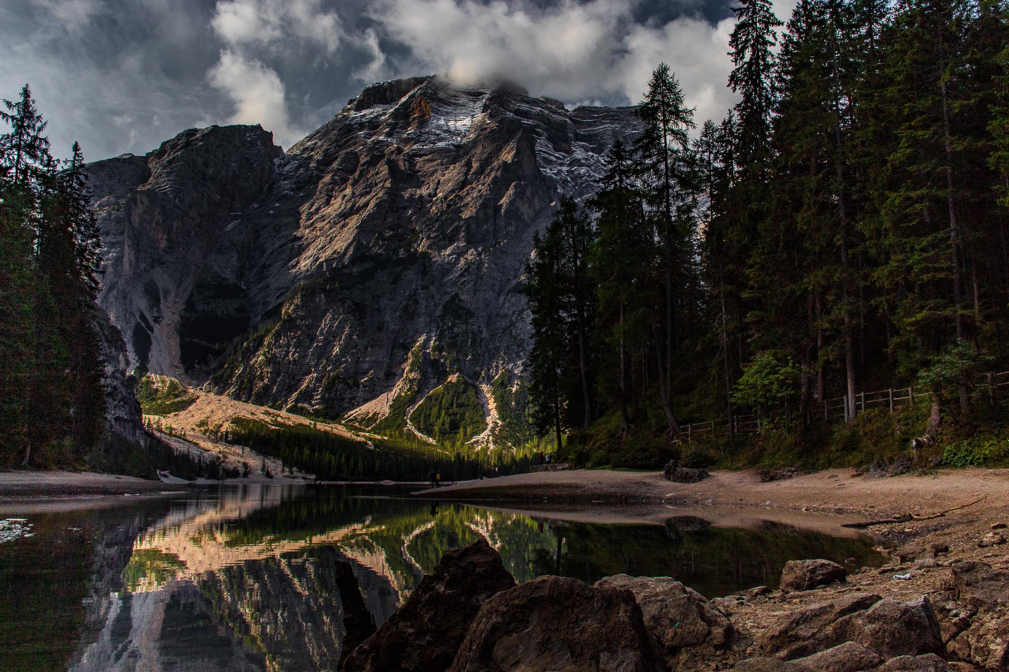 Dolomites Lago di Braies, Italy