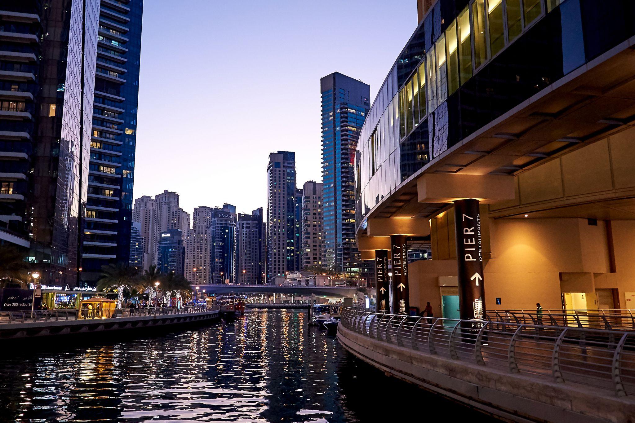 Dubai Marina Pier 7, United Arab Emirates