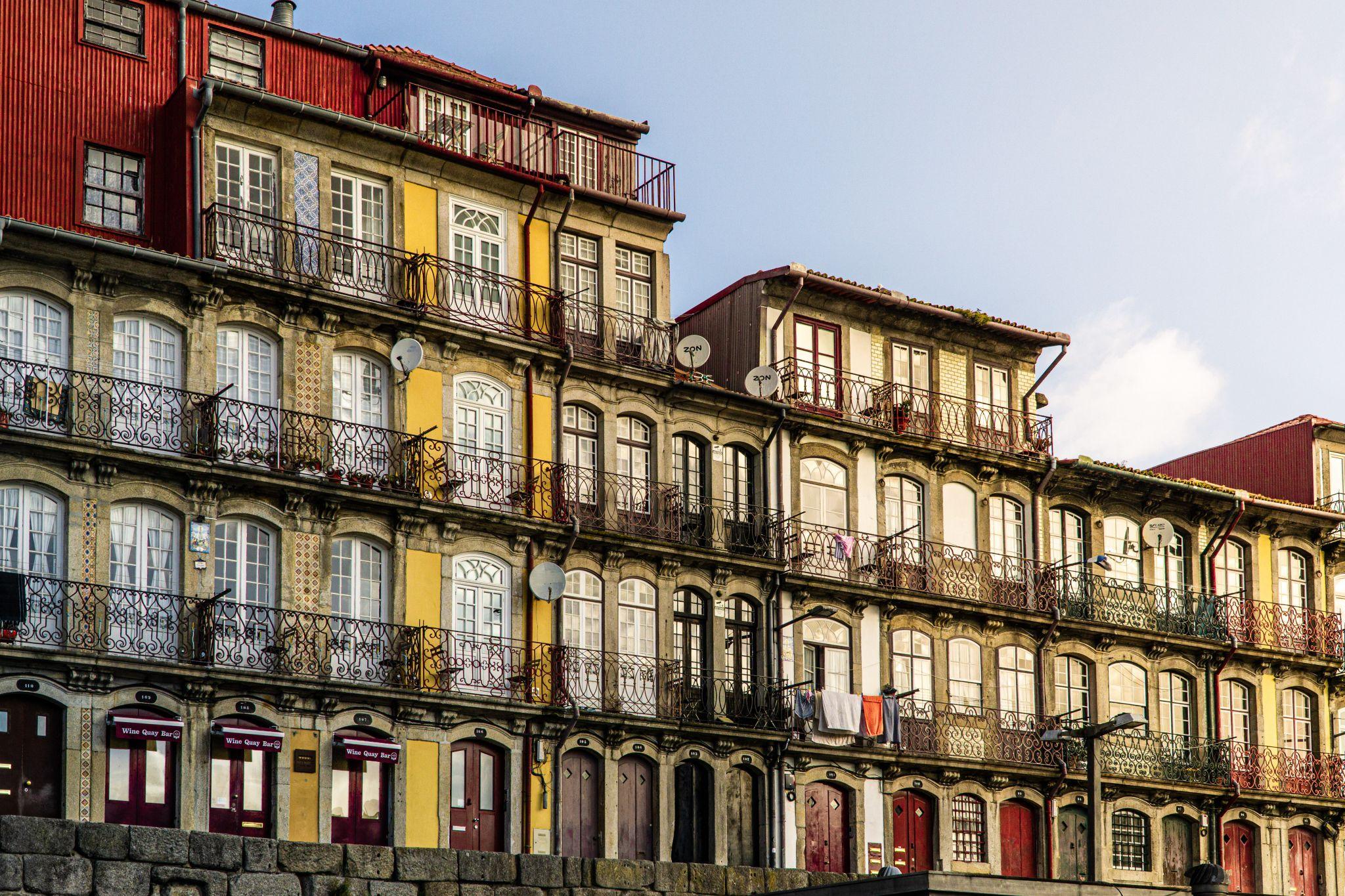 facades in Porto, Portugal