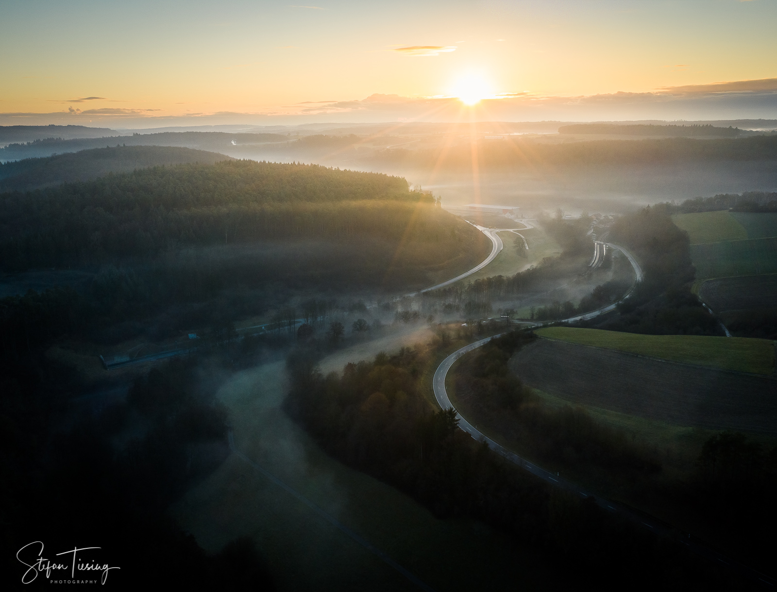 From Hemsbach to Adelsheim, Germany