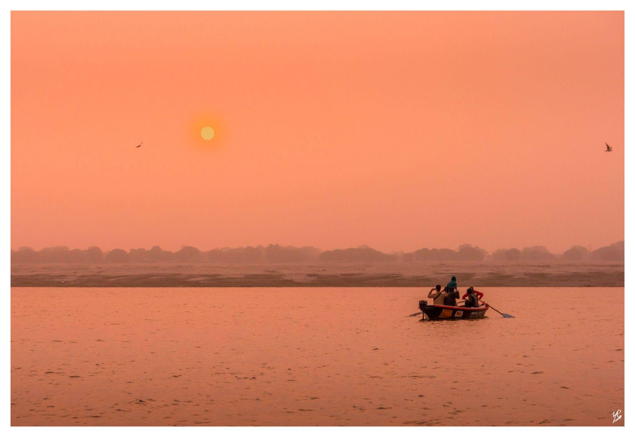 Ghats of Varanasi   Gages river, India