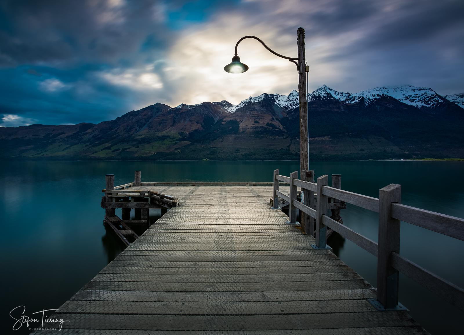 Glenorchy Wharf, New Zealand