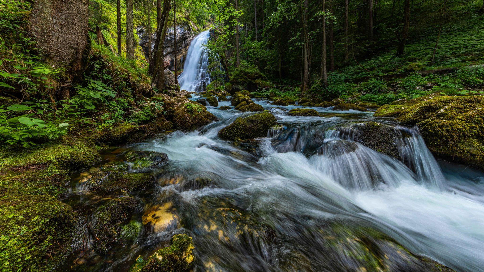 Gollinger Wasserfall (Gollinger Waterfall), Austria
