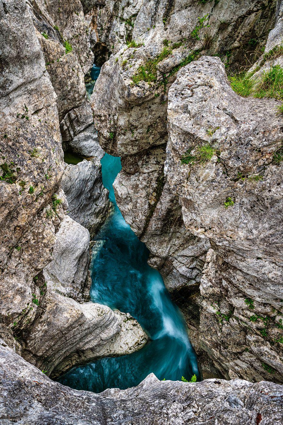 Grand Canyon of Soca, Slovenia