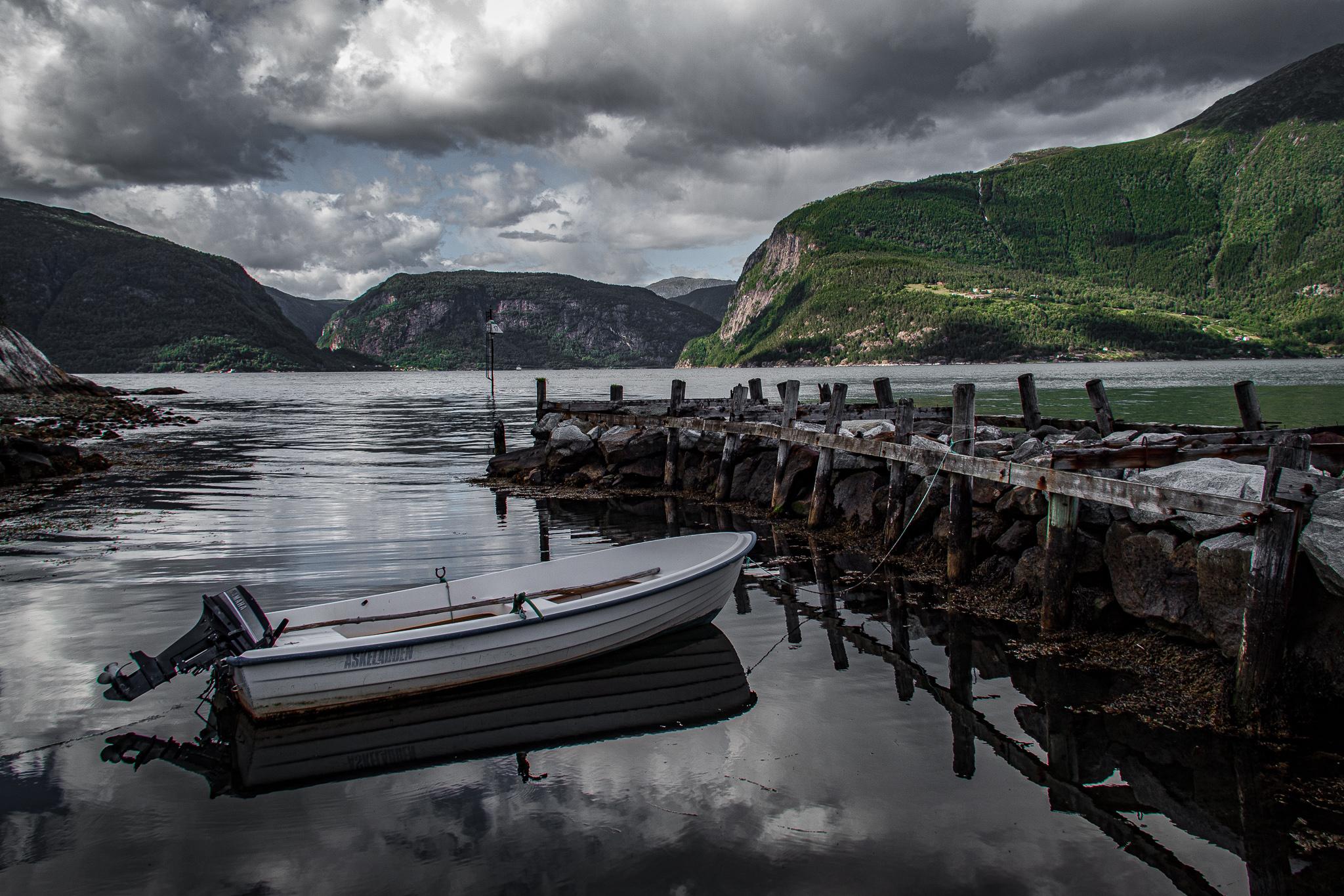 Hardangerfjord Utne, Norway