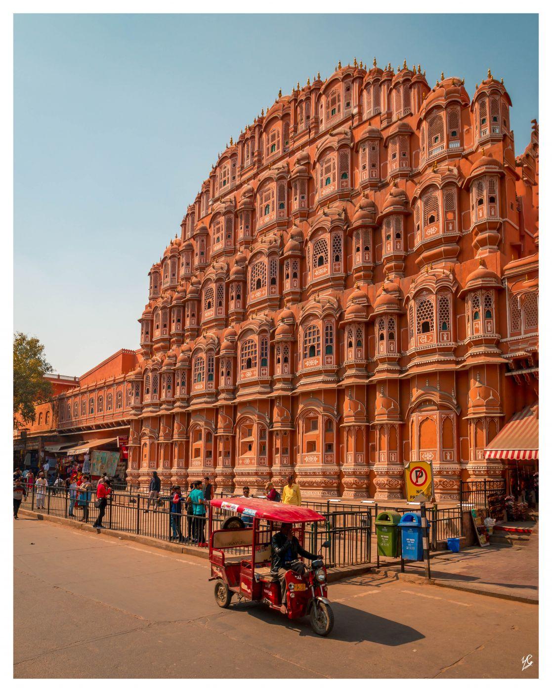 Hawa Mahal  Windpalast, India
