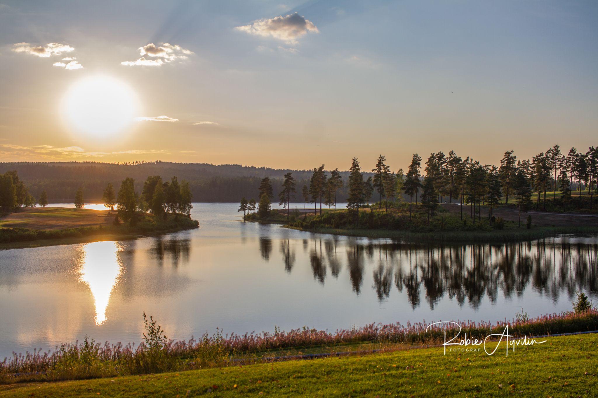 Isaberg golf club, Sweden