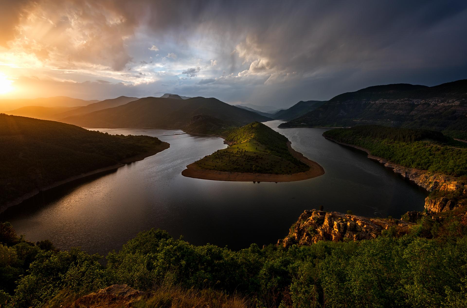 Kardjali Dam, Bulgaria