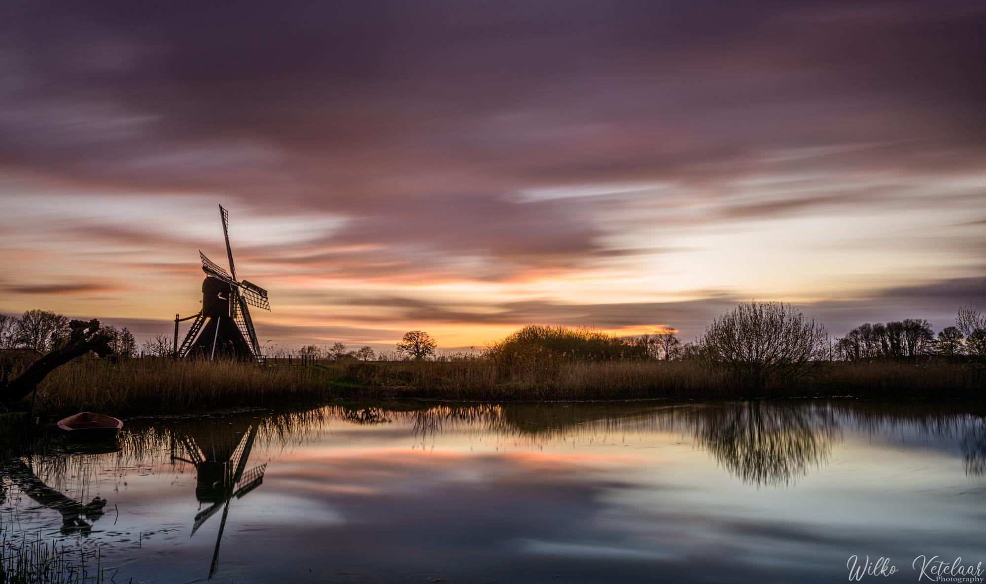 Keppelse watermill, Netherlands
