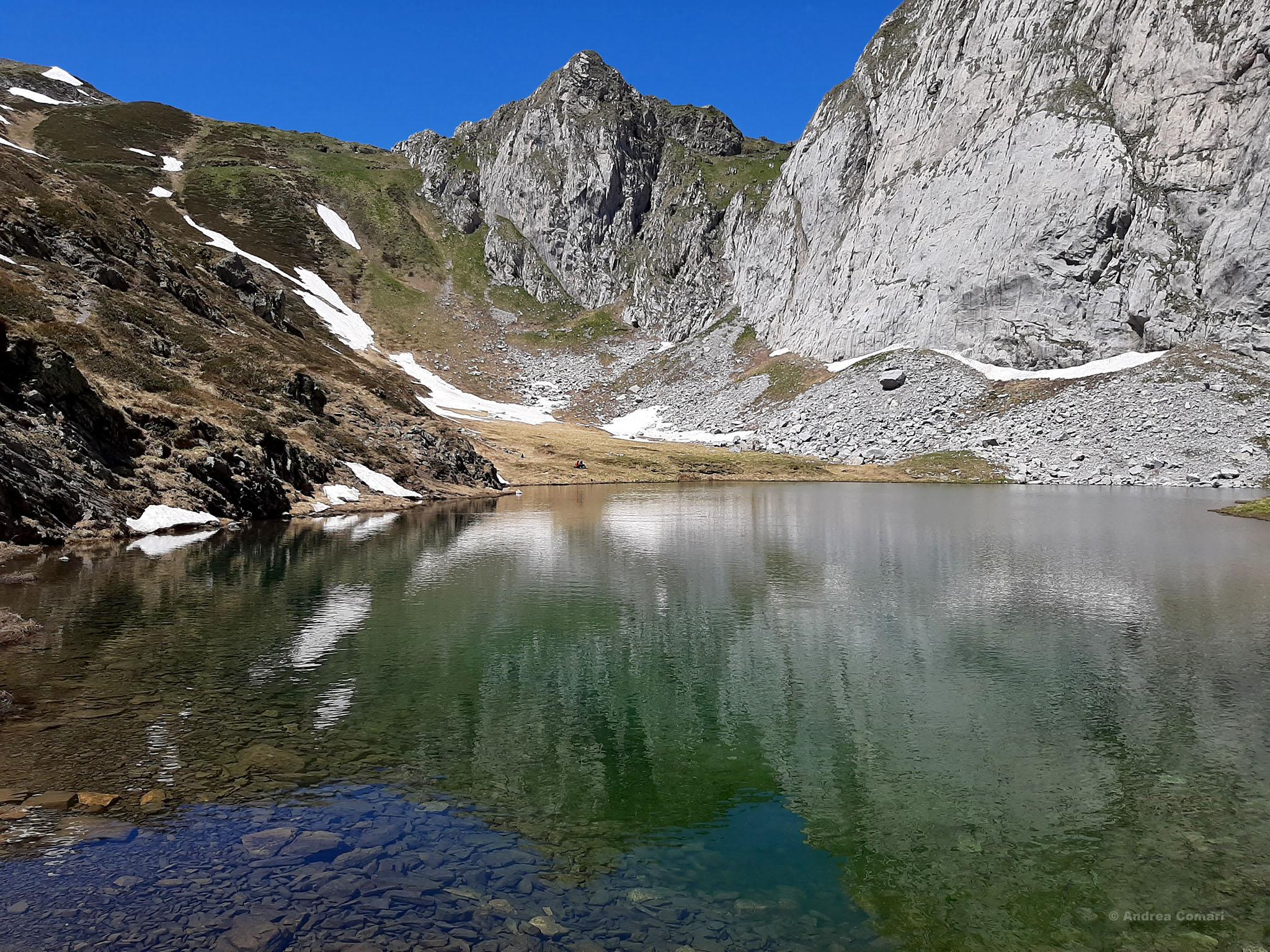 Lake Avostanis, Italy