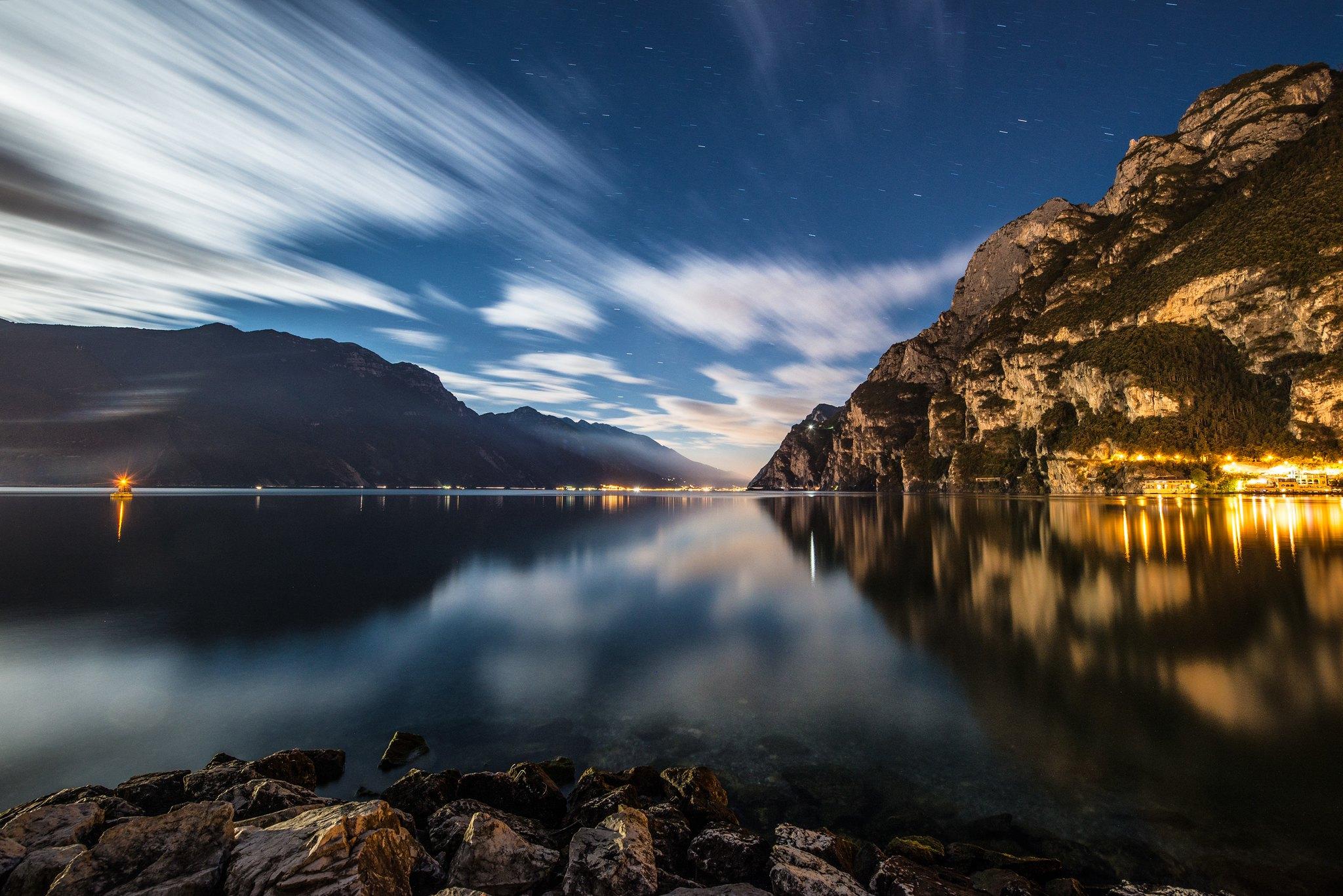 Lakeside Riva, Italy