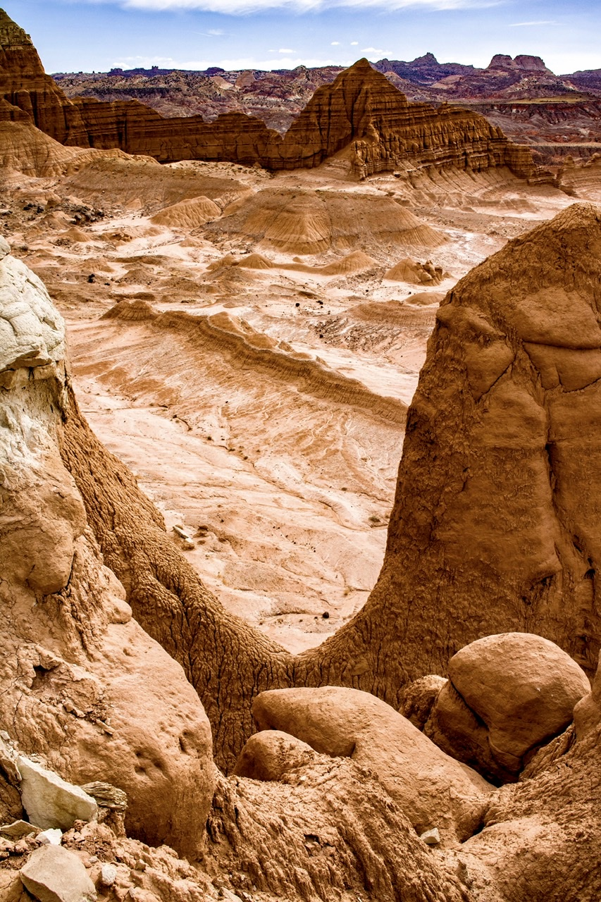 Lower South Desert Overlook, USA