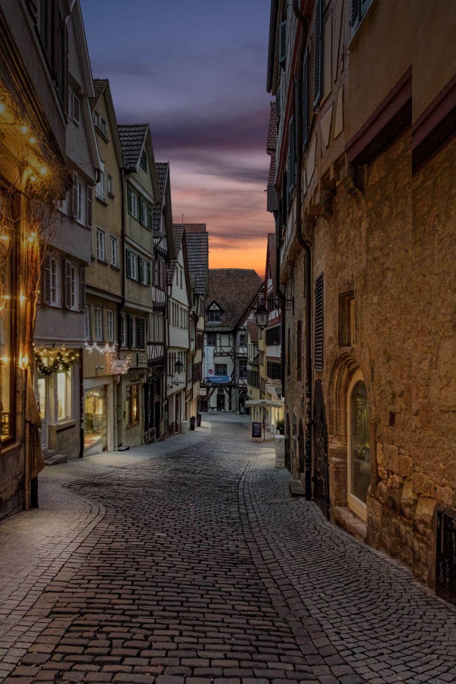 Marktgasse Tübingen, Germany