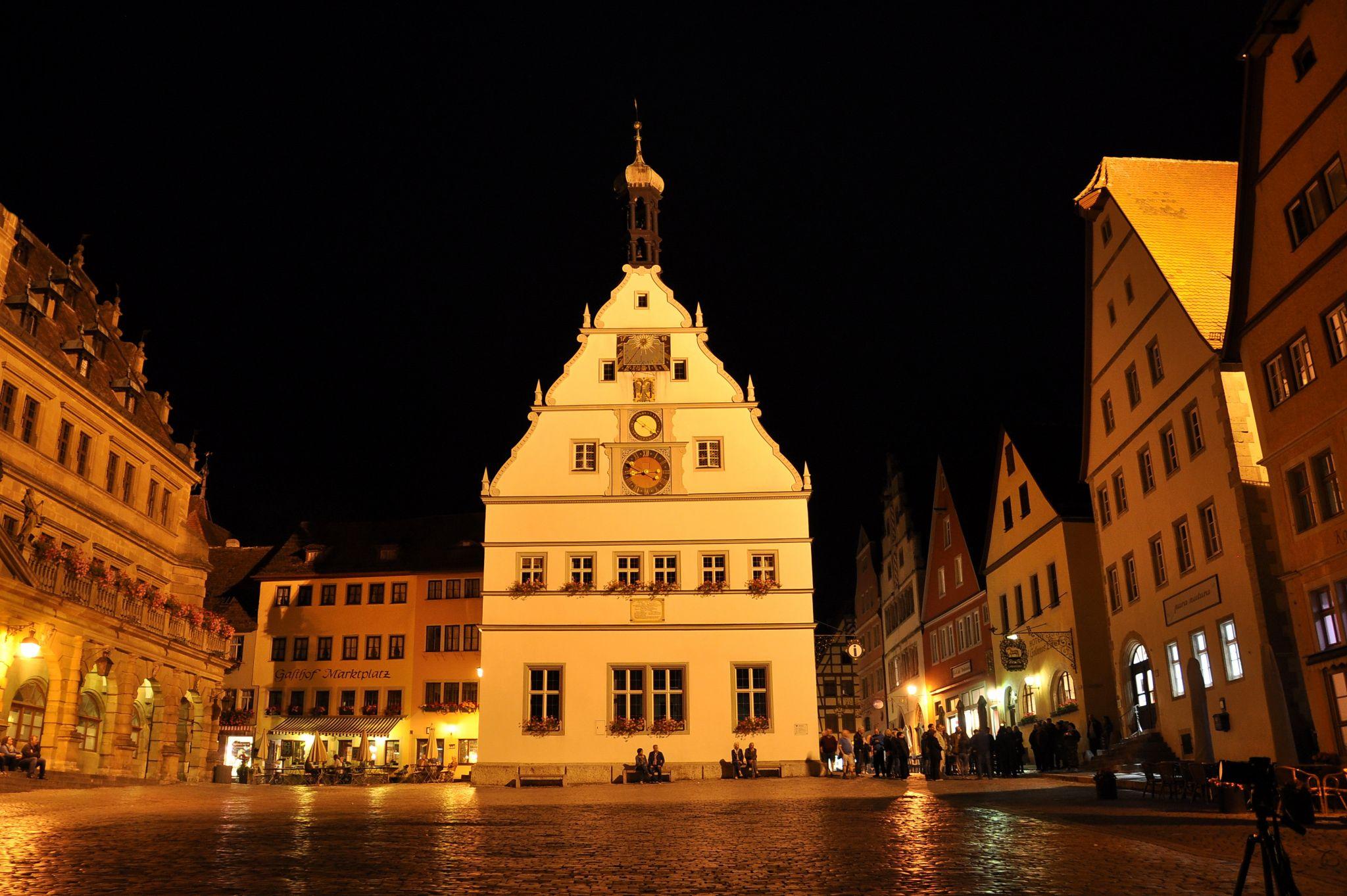 Marktplatz in the evening, Germany