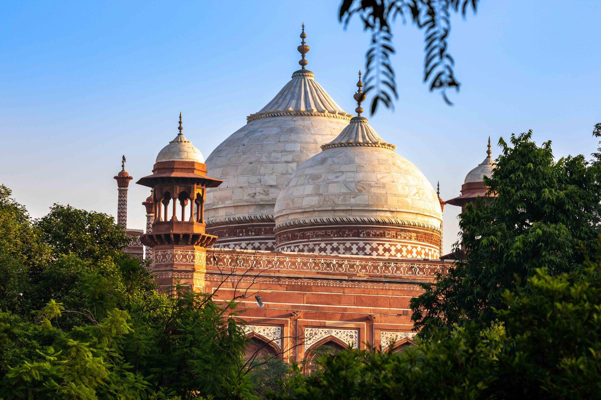 Mehmaan khana, Taj Mahal, Agra, India