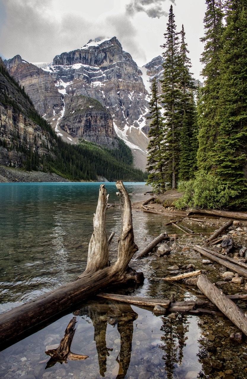 Moraine Lake Shoreline, Canada