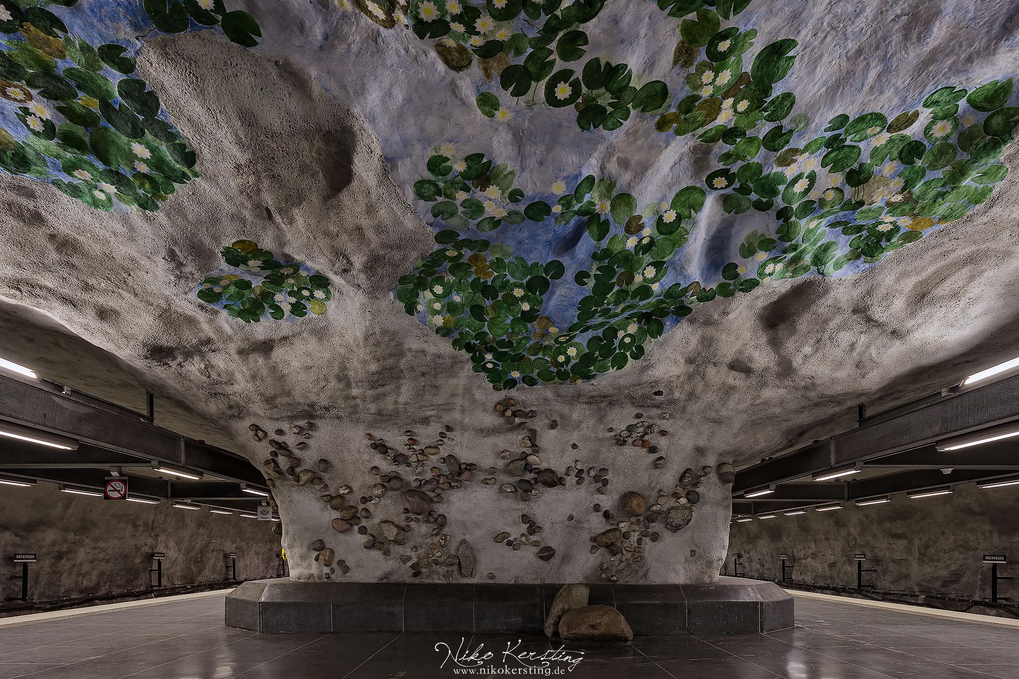 Näckrosen (Underground Station), Sweden