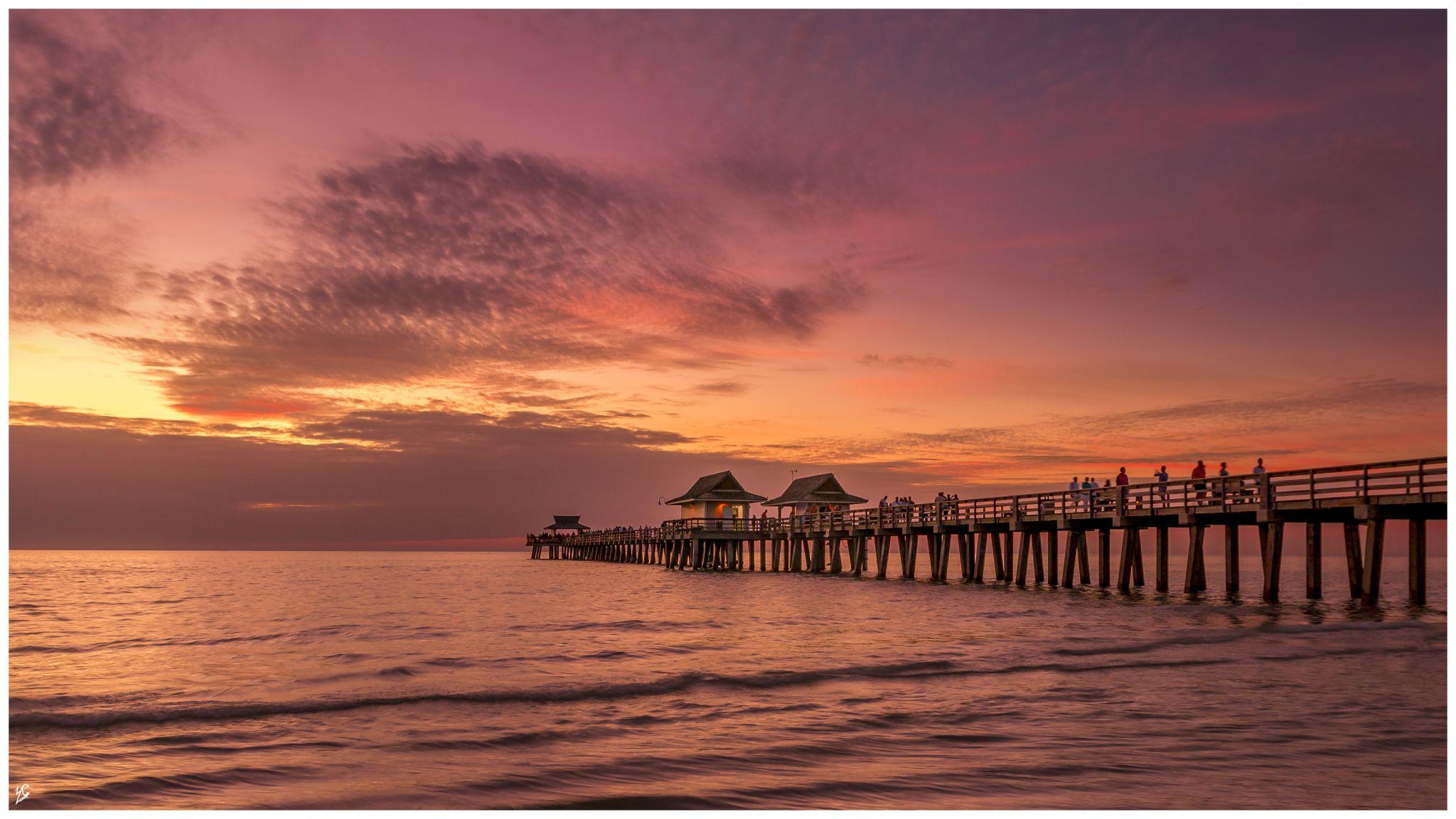 Naples Beach, USA
