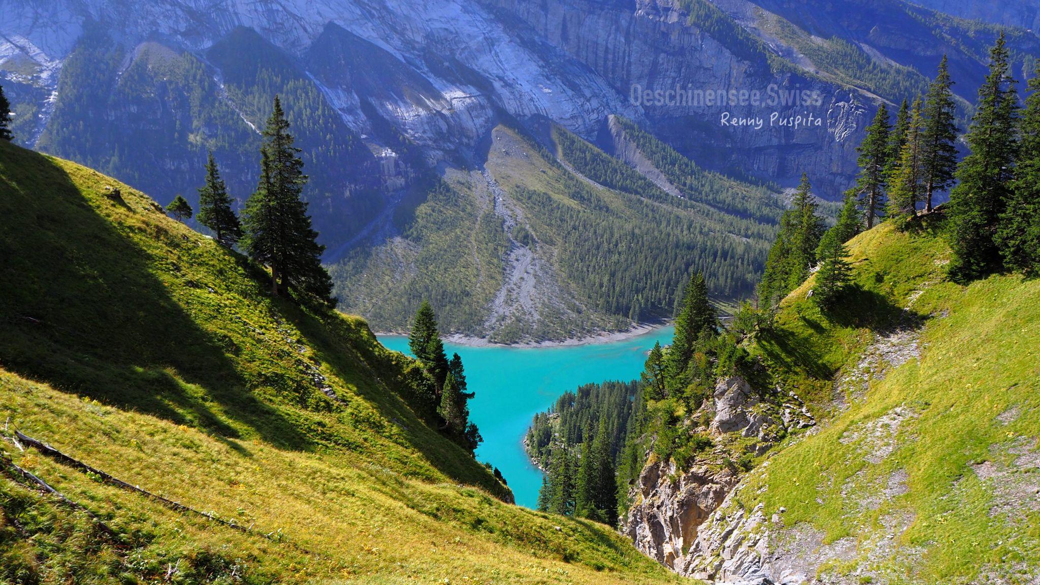 Oeschinensee, Switzerland, Switzerland