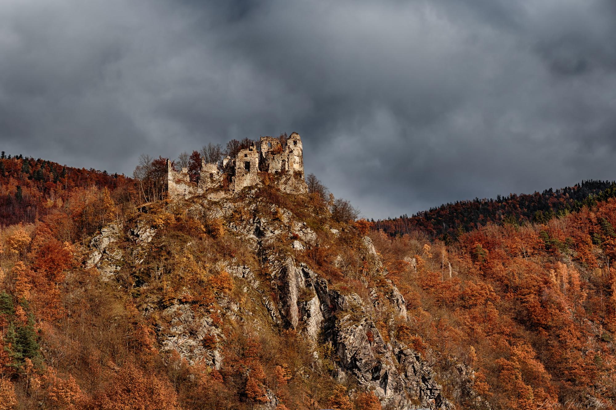 Old castle (Stary hrad), Slovakia (Slovak Republic)