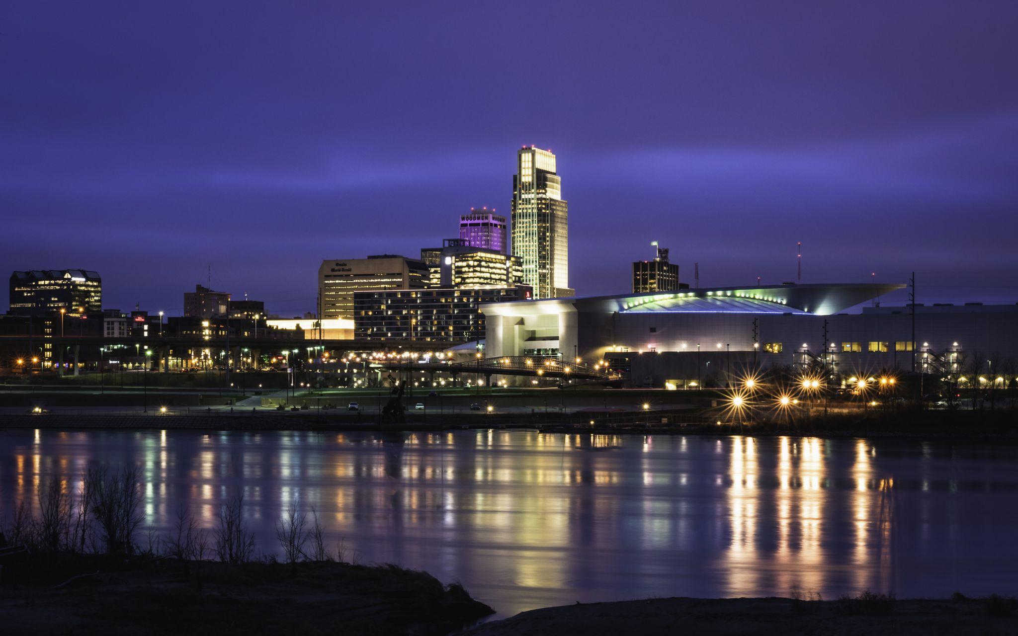 Omaha City Overlook, USA