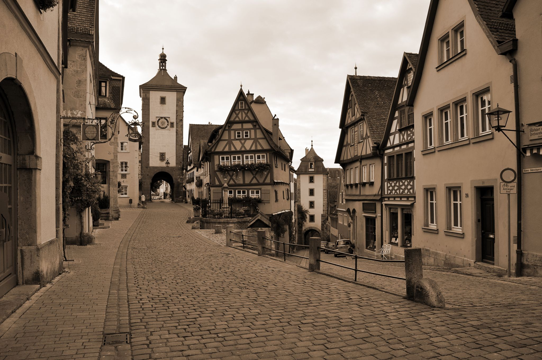 Plönlein Rothenburg ob der Tauber, Germany