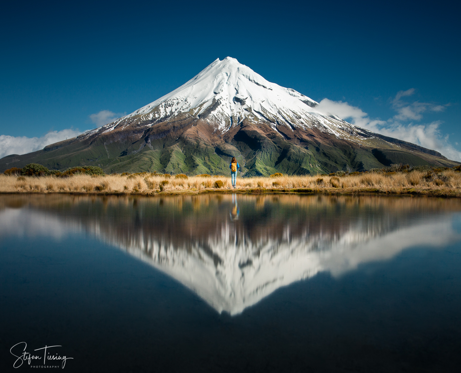 Pouakai Circuit Reflective Tarn (Mount Taranaki), New Zealand